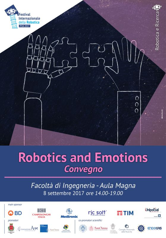 Robotics and emotions Festival Robotica 2017